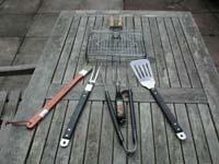 BBQの道具