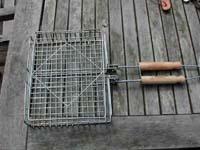 BBQの道具 - 両面焼き網